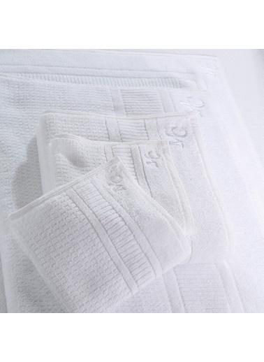 Marie Claire Otel Serisi-Havlu Vıenne 100% Pamuk 90X150 Cm Tekli Beyaz Beyaz
